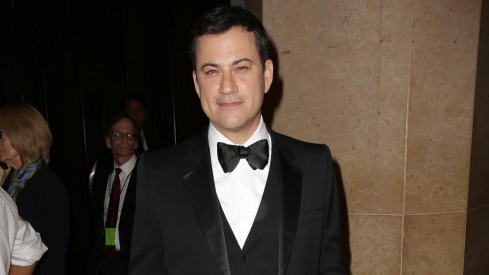 AVSLØRTE INTIM HEMMELIGHET: Jimmy Kimmel ga litt mer enn forventet da han snakket med E! News. I intervjuet avslørte han at han har operert penis to ganger. Foto: All Over Press