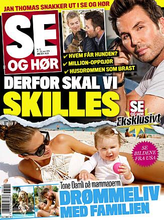 LES MER: I nyeste nummer av Se og Hør kan du lese mer om Stig Henrik Hoff og Sølje Bergman. Foto: Se og Hør