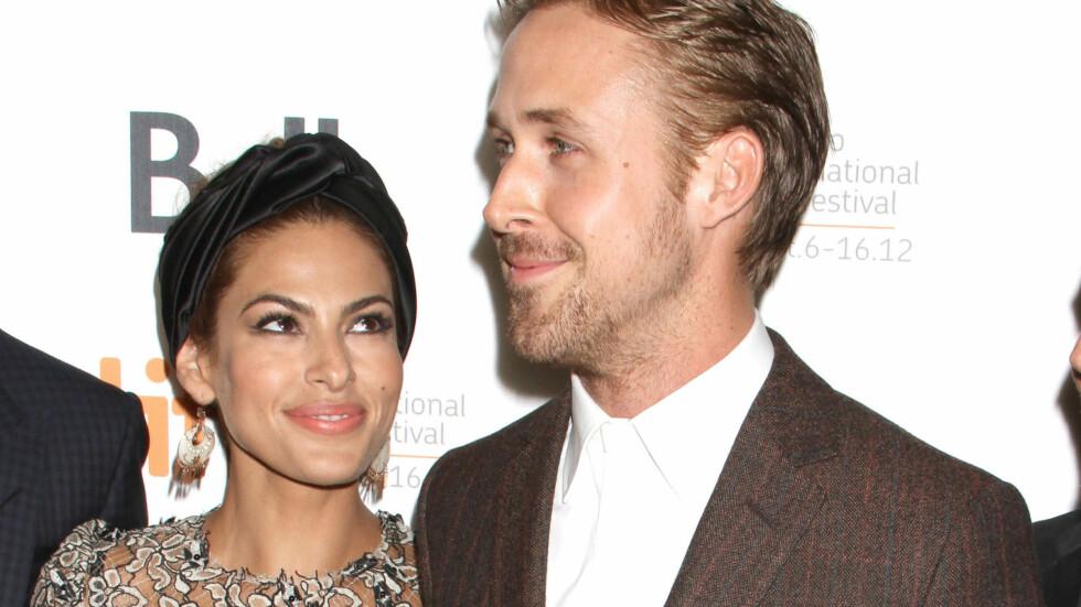 <strong>STERKT FORHOLD:</strong> Superparet Eva Mendes og Ryan Gosling har vært sammen siden 2011, men er kjent for å holde en lav profil i media. Nå letter derimot Eva litt på sløret i et nytt intervju.