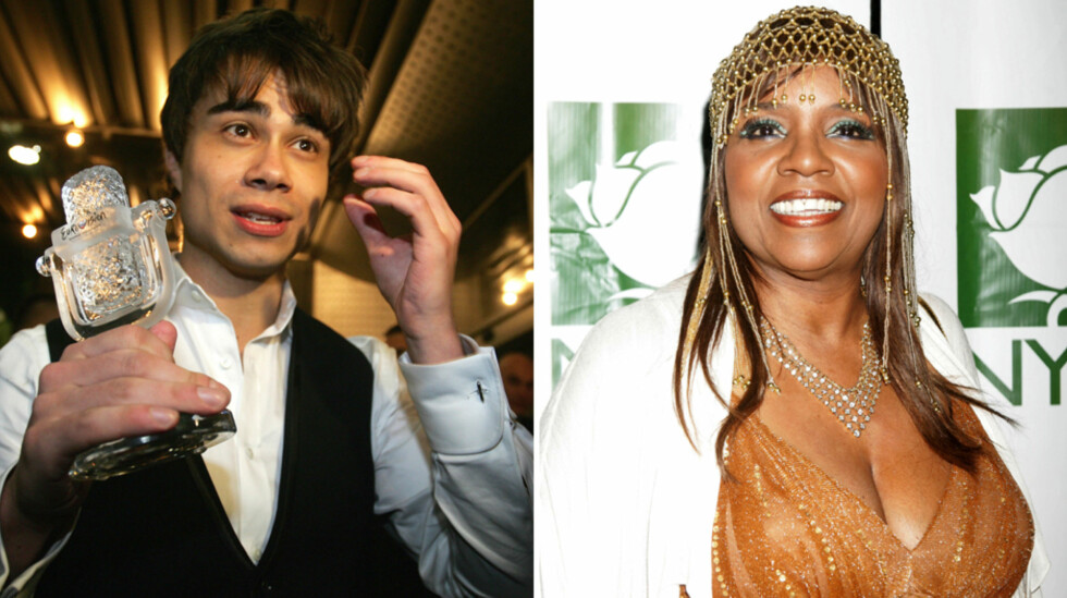 SPORTY STJERNE: Alexander Rybak, her avbildet etter seieren i Eurovision Song Contest, imiterte discostjernen Gloria Gaynor i den siste episoden av russiske «Your Face Sounds Familiar». Foto: Stella Pictures