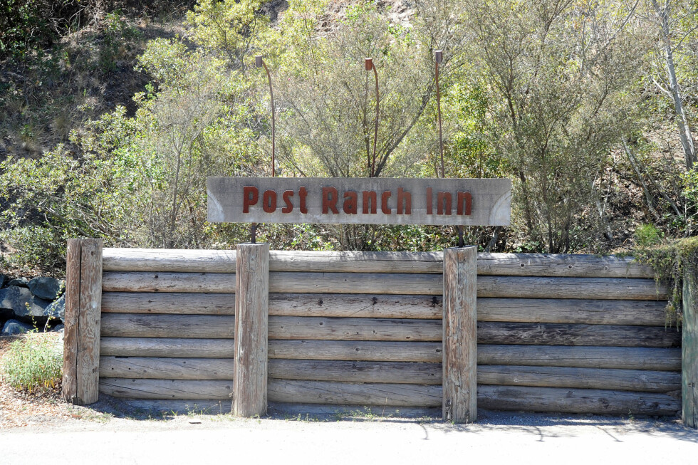 YNDET RESORT: Post Ranch Inn i Big Sur har vært vertskap for bryllupsgjester, bryllupsfester og hvetebrødsdager blant Hollywood-stjernene.  Foto: Splash News/ All Over Press