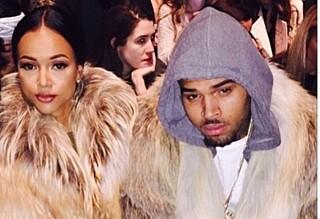 Dumpet Chris Brown etter babysjokk