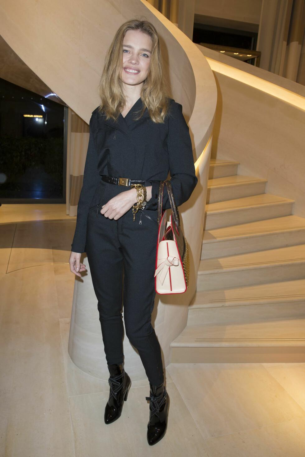 HEMMER HENNE IKKE: Selv om dietten er streng, påstår Vodianova at hun kan spise omtrent hva hun vil. Foto: Stella Pictures