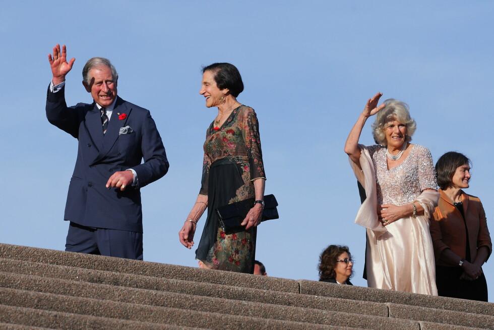 2012: Prins Charles og hertuginne Camilla besøkte operahuset i forbindelse med en diamantjubileums-mottagelse. Foto: Robert Wallace / Splash News/ Al