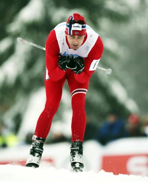 FØDT MED SKI PÅ BEINA: Thomas Alsgaard har vunnet fem OL-gull, seks VM-gull og syv NM-gull i løpet av sin karriere.  Foto: All Over Press