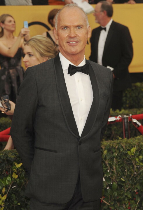 COMEBACK: Michael Keaton har hatt en pause fra lerretet de siste årene, men er endelig tilbake på den røde løperen.  Foto: Splash News/ All Over Press