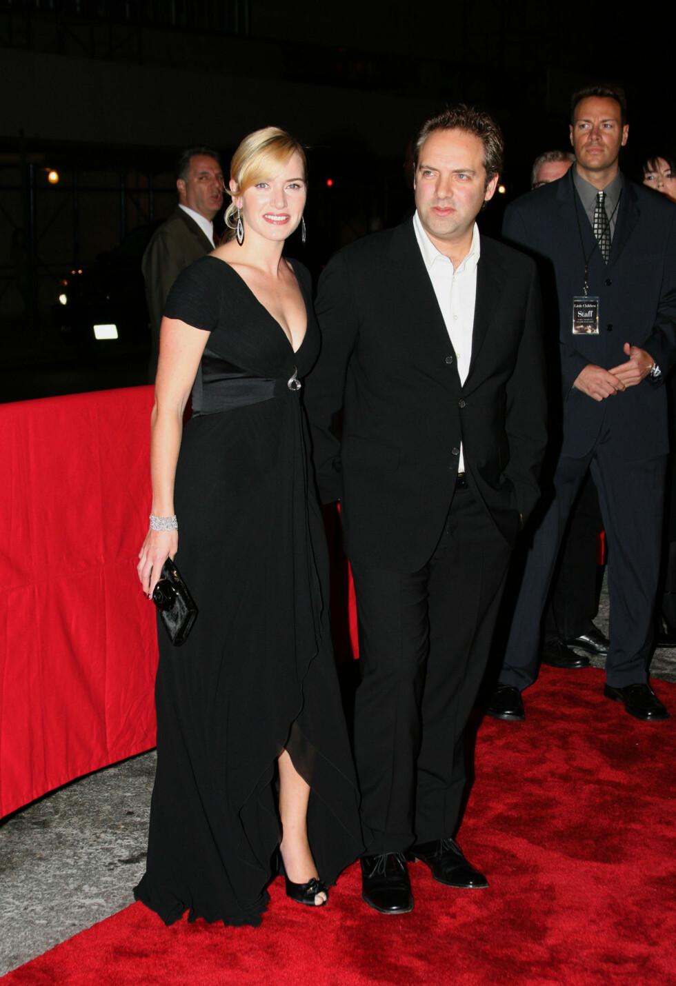 BRUDD ETTER OSCAR: Kate Winslet og Sam Mendes. Foto: All Over Press