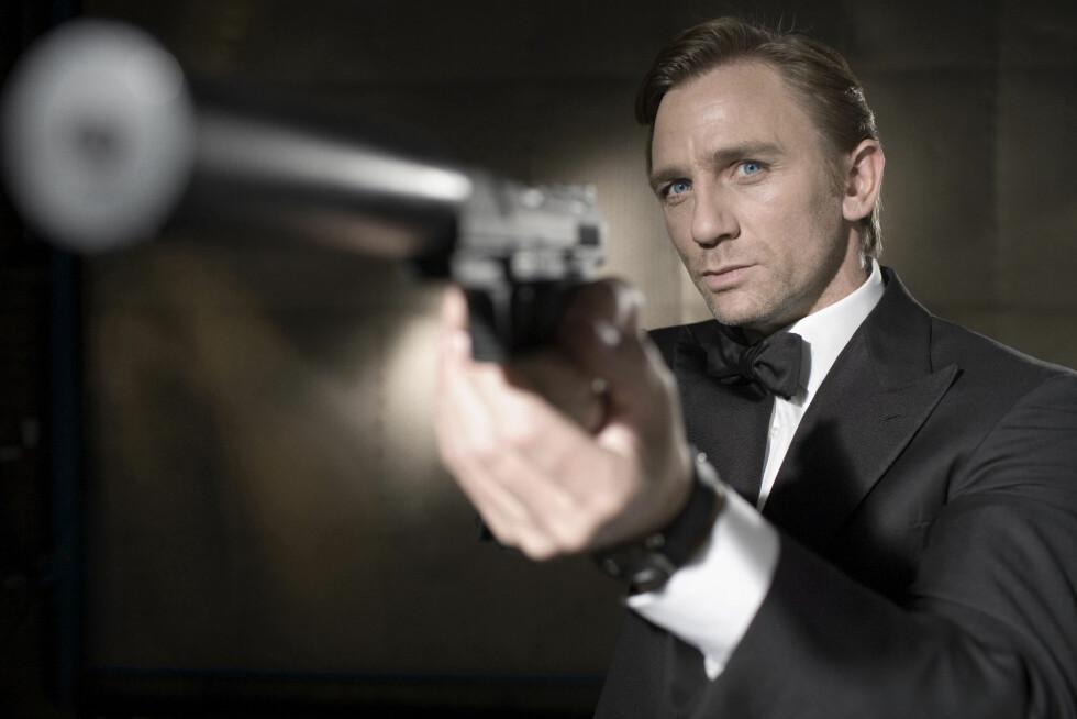 <strong>POPULÆR ROLLE:</strong> Den kommende Bond-filmen blir det 24. i rekken. Foto: Stella Pictures
