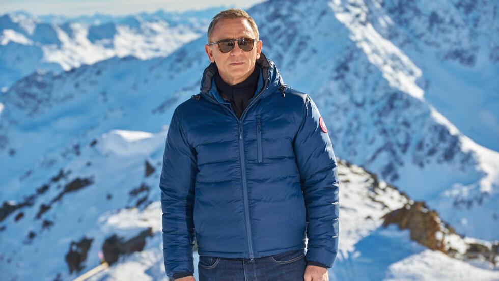 <strong>FULL STANS:</strong> Innspillingen av den kommende James Bond-filmen Spectre ble stoppet etter at Daniel Craig skadet seg på settet. Her er han under en fotocall under innspillingen. Foto: All Over Press