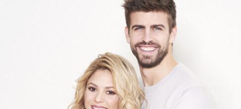 Shakira avslørte sønnen på Instagram