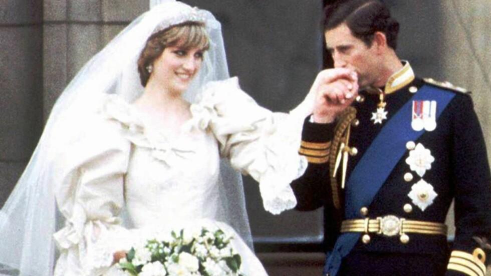 SPILL FOR GALLERIET? En hel verden var bergtatt da prins Charles giftet seg med den unge og vakre Diana. Nå hevder forfatteren Catherine Mayer at prinsen kvelden før vurderte å trekke seg fra giftemålet.  Foto: AP