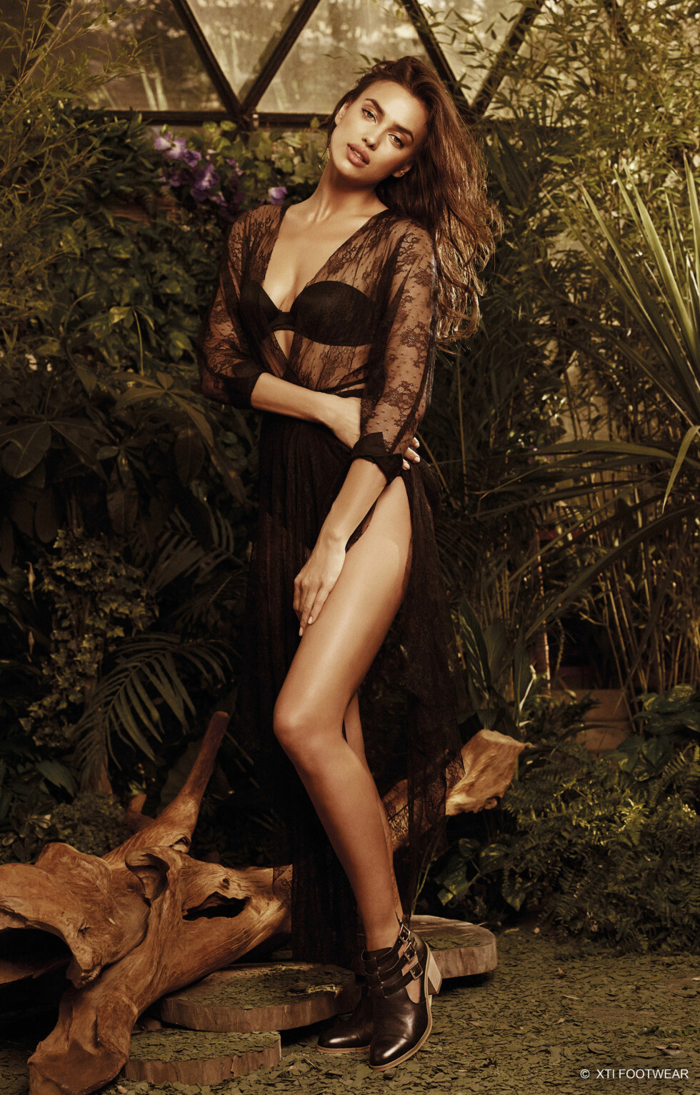 FLOTT: Irina Shayk så strålende ut på de nye modellbildene. Foto: Stella Pictures