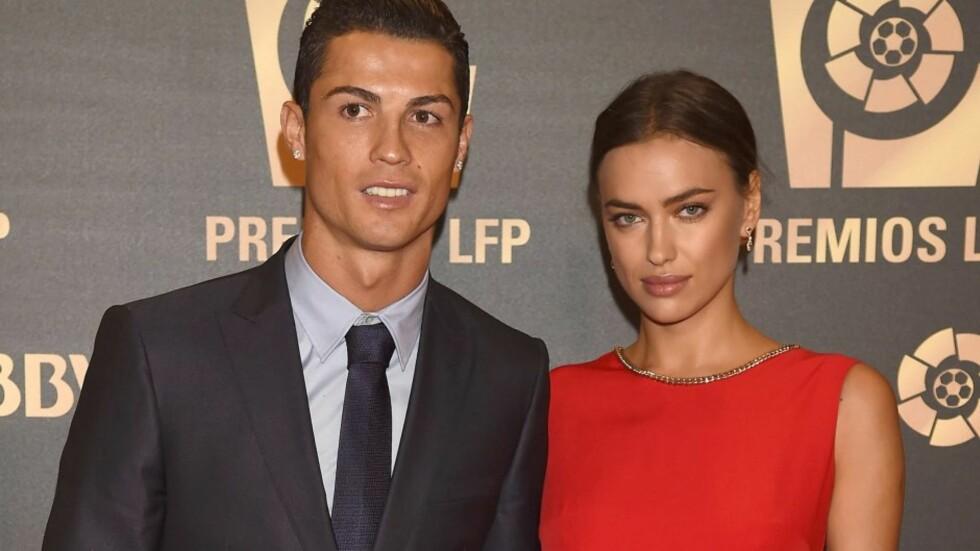 HVERT TIL SITT: Det smellvakre stjerneparet Cristiano Ronaldo og Irina Shayk gjorde det slutt tidligere i januar. Paret ble sammen i 2010, etter å ha møttes på en reklamejobb for Armani. Her er de sammen på LFP Awards 2014 i Madrid høsten 2014.