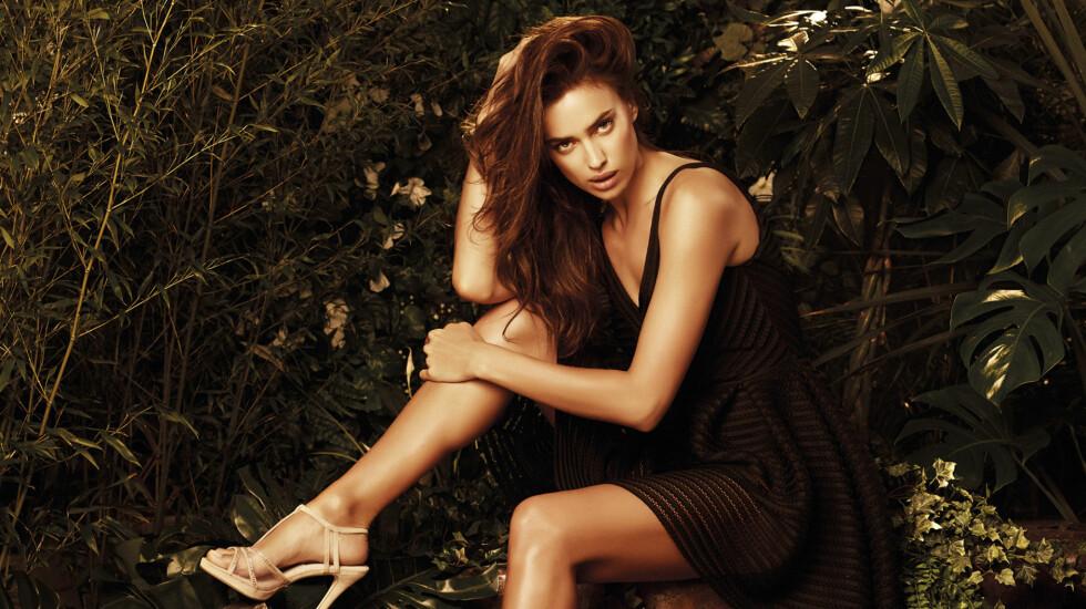 HOT: Irina Shayk så svært sexy ut i disse nye modellbildene for merket «Love Republic». Foto: Stella Pictures