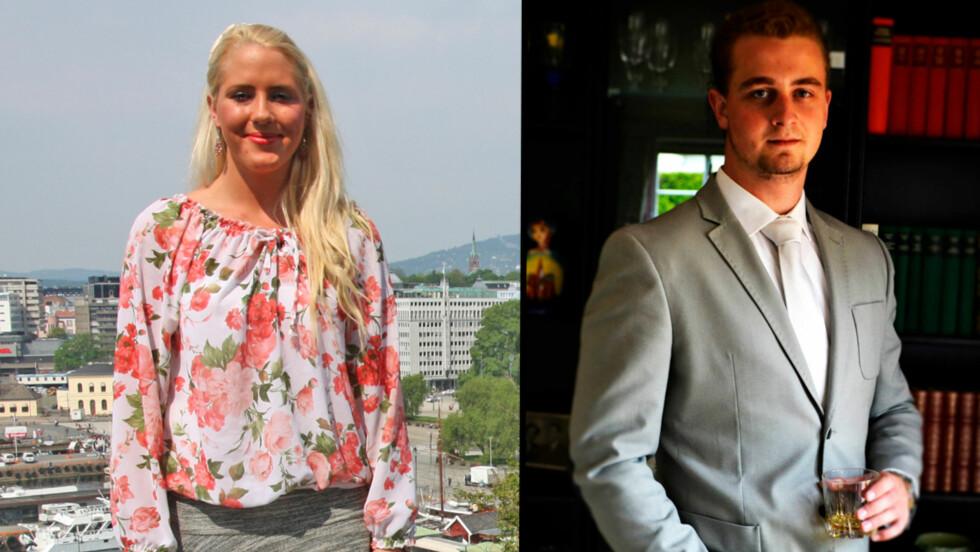 NYTT PAR: Fjorårets vinner av Paradise Hotel, Aurora Gude, har blitt sammen med Nøtterøy-mannen Haakon Johan Lønner. Foto: Thomas Horni, Seoghør.no / Privat