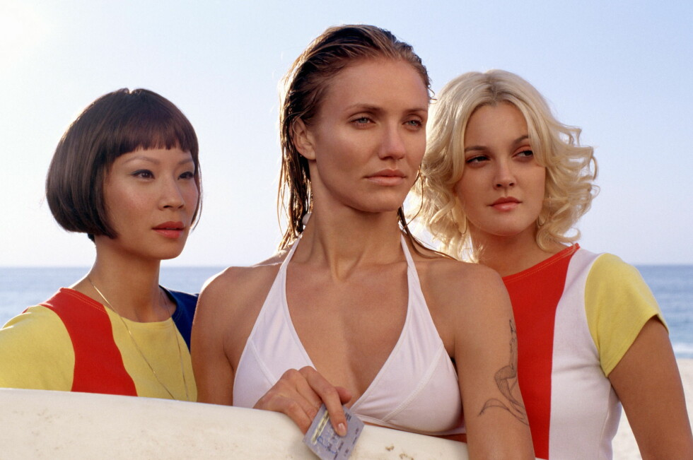 <strong>Code:</strong> PEOPX8- P43-8-240603, Los Angeles, USA, 06.2003: Lucy Liu, Cameron Diaz and Drew Barrymore star in the exciting action sequel Charlies Angels: Full Throttle. All Over Press/People In Pictures Foto: All Over Press