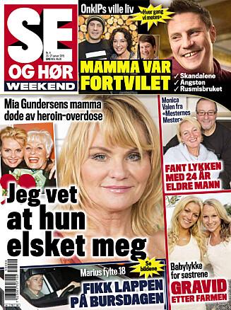 LES MER: I nyeste nummer av Se og Hør Weekend kan du lese mer om det forelskete paret. Foto: Se og Hør