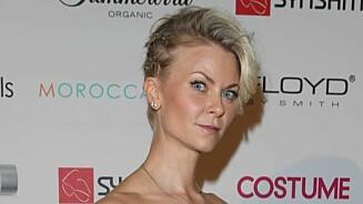 SEXY: Bertine Zetlitz kom på Costume Awards i korsett fra en sexbutikk.  Foto: Andreas Fadum, Se og Hør