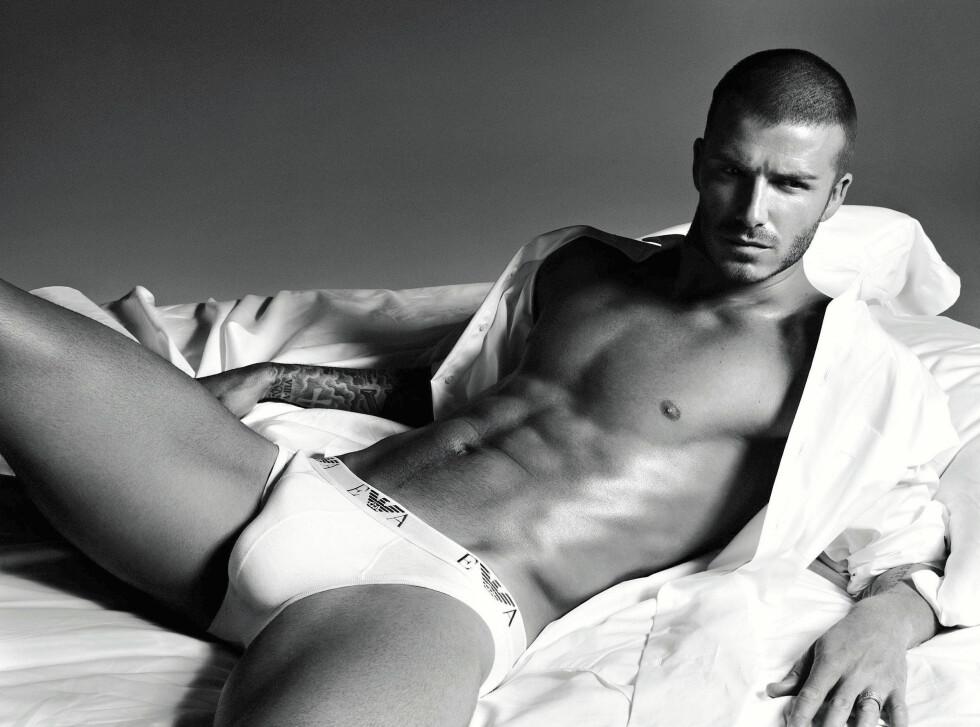 David Beckhams første undertøyskampanje fikk lunken mottagelse.