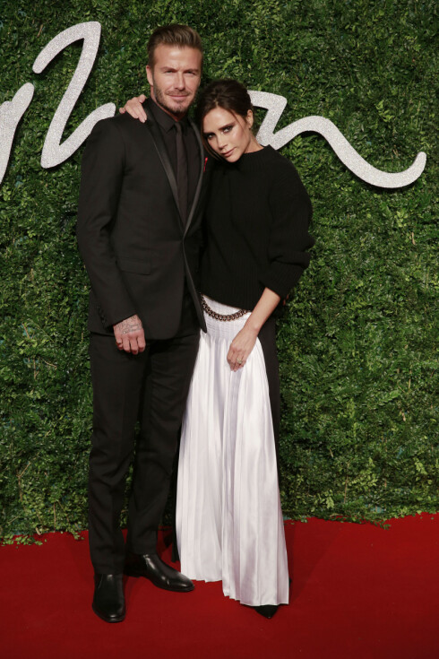 VELKLEDD PAR: Både David og kona Victoria Beckham er kjent for sin sans for stil og design. Foto: Stella Pictures