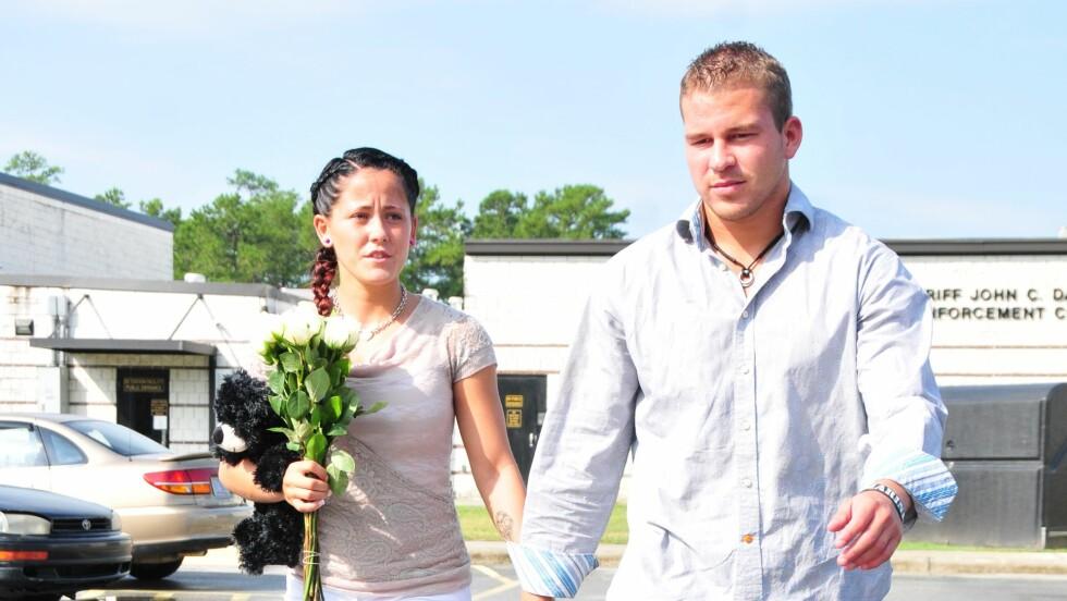 <strong>- VIL GIFTE SEG PÅ TV:</strong> Teen Mom-stjernen Jenelle Evans og Nathan Griffith skal vurdere å gifte seg på MTV, dersom de får nok penger. Foto: All Over Press