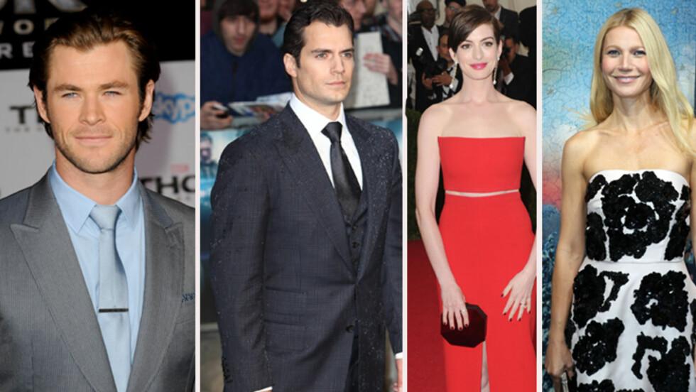 DIETT: Hollywood-stjernene går ekstra langt for å oppnå  resultater.  Foto: All Over Press