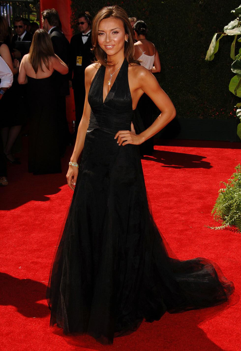 FRESH: Giuliana, dengang med fødenavnet DePandi, strålte på Emmy Awards i august 2006. Foto: © Fernando Allende/Splash News/ All Over Press
