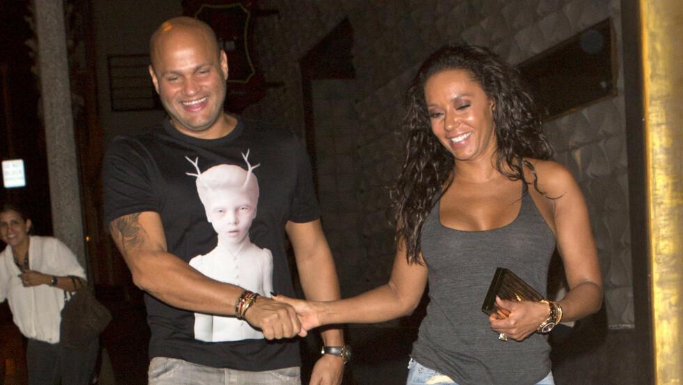 BRUDD: RadarOnline.com melder at Stephen Belafonte og Melanie Brown har gått hver til sitt. Foto: All Over Press