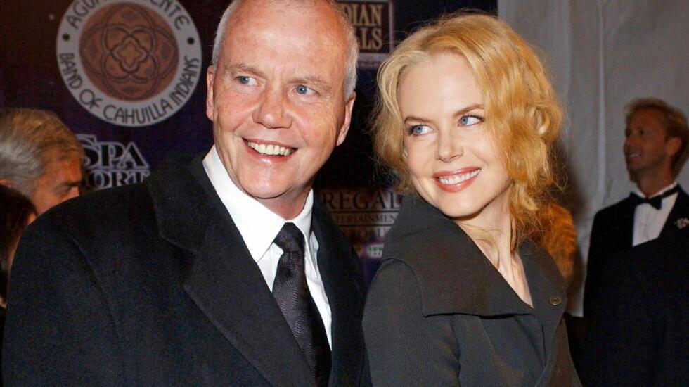 DØDE BRÅTT: Faren til Nicole Kidman, den respekterte psykologen Anthony Kidman, falt uventet om og døde på sensommeren. Foto: All Over Press