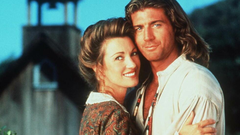 TV-SUKSESS: Jane Seymour og Joe Lando klistret TV-seerne til skjermen i «Dr. Quinn, Medicine Woman» på 1990-tallet. Nå er de gjenforent i en sketsj om oppfølgeren til TV-serien. Foto: (c)Capital Pictures/Kipa/Corbis/All Over Press