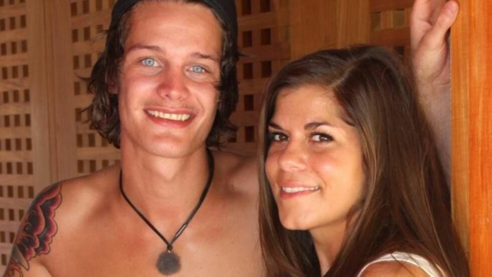 MØTTES I MEXICO: Dennis og Kristin traff hverandre for første gang under innspillingen av TV3-serien «Paradise Hotel» i 2012. Nå er de samboere i Oslo.  Foto: Sølve Hindhamar, Se og Hør