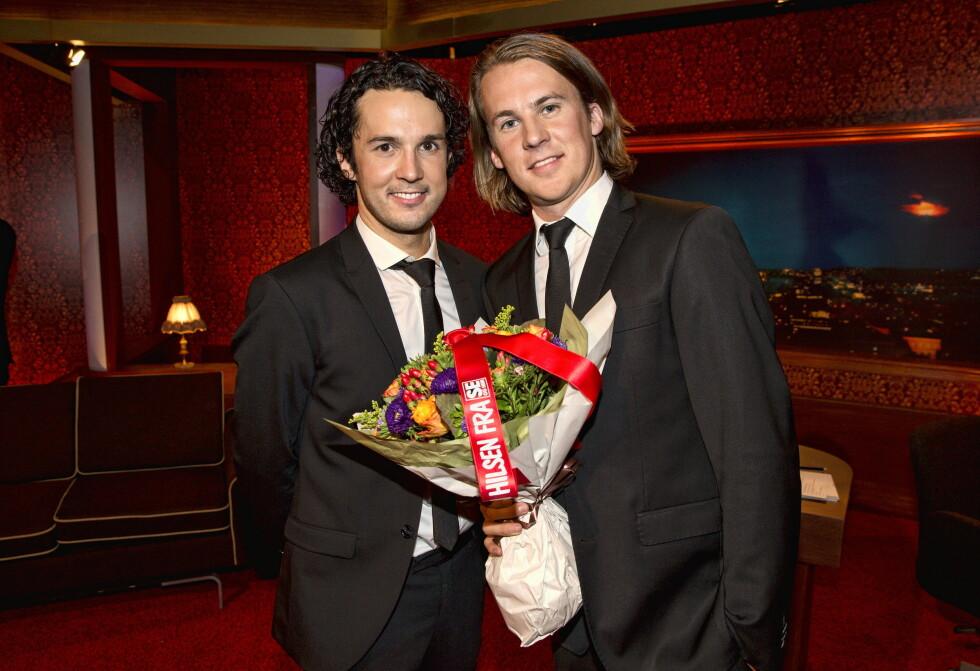 <strong>SUKSESS:</strong> Ylvis-brødrene har nytt stor suksess med sitt show «I kveld med Ylvis live» på TVNorge.  Foto: Andreas Fadum