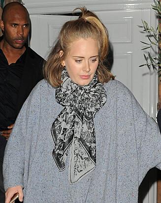 SA NEI: Adele var ikke med på årets Band Aid-innspilling.  Foto: Stella Pictures
