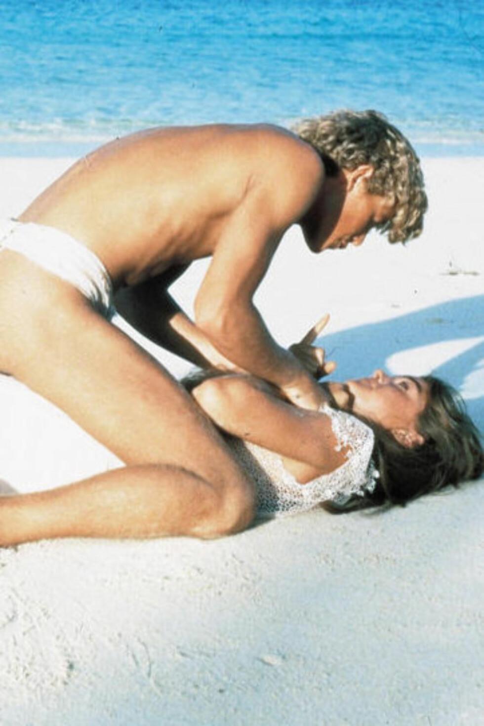 STOR ROLLE: Brooke Shields ble verdensberømt gjennom sin rolle i filmen «Den blå lagune» i 1980. Foto: Jamie Hanson / All Over Press