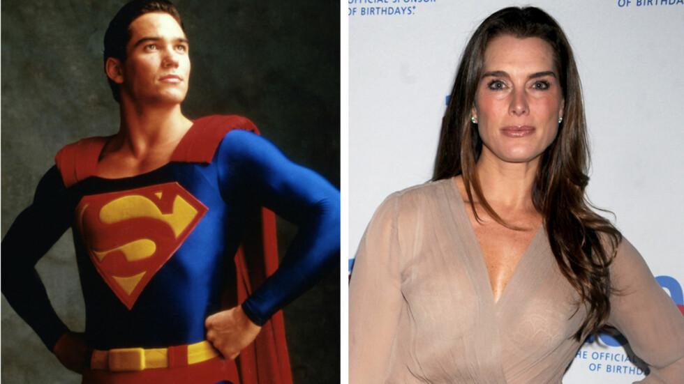 VAR KJÆRESTER: Brooke Shields var sammen med «Lois & Clark»-skuespiller Dean Cain, da hun mistet jomfrudommen som 22-åring. Foto: All Over Press