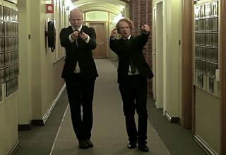 Her danser Sp-Trygve inne på Stortinget