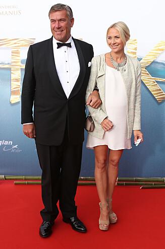 DATTEREN: Stein Erik Hagen og datteren Camilla Hagen.  Foto: Stella Pictures