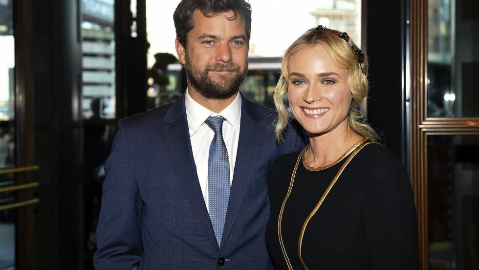 KJÆRESTER: Joshua Jackson og Diane Kruger er lykkelige som ugifte, men ønsker seg gjerne en familie sammen. Foto: REX/Picture Perfect/All Over Press