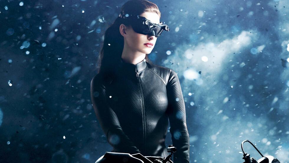 CATWOMAN: Selv om  Anne Hathaway har spilt Catwoman, blir hun ikke sett på som sexy i Hollywood. Foto: Stella Pictures