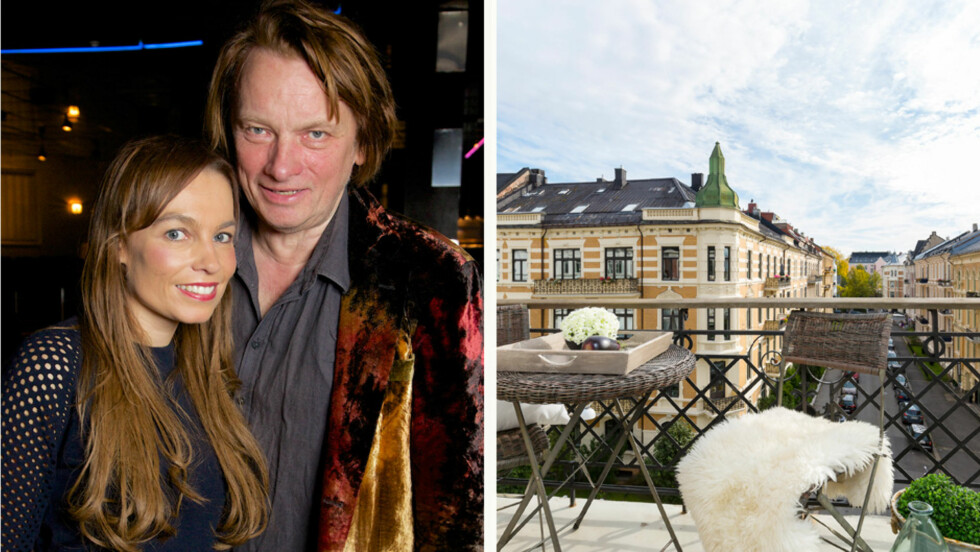 FLYTTER: Kaia Huuse og Jan Eggum har valgt å gå fra hverandre, og selger praktleiligheten i Oslos beste strøk. Foto: Foto: Tore Skaar/Se og Hør, Lasse Lerdahl