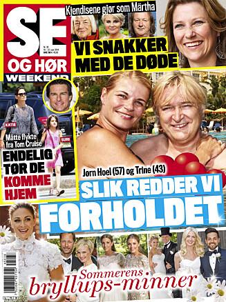 I SALG NÅ: I Se og Hør Weekend kan du lese mer om Morgan Karlsson.