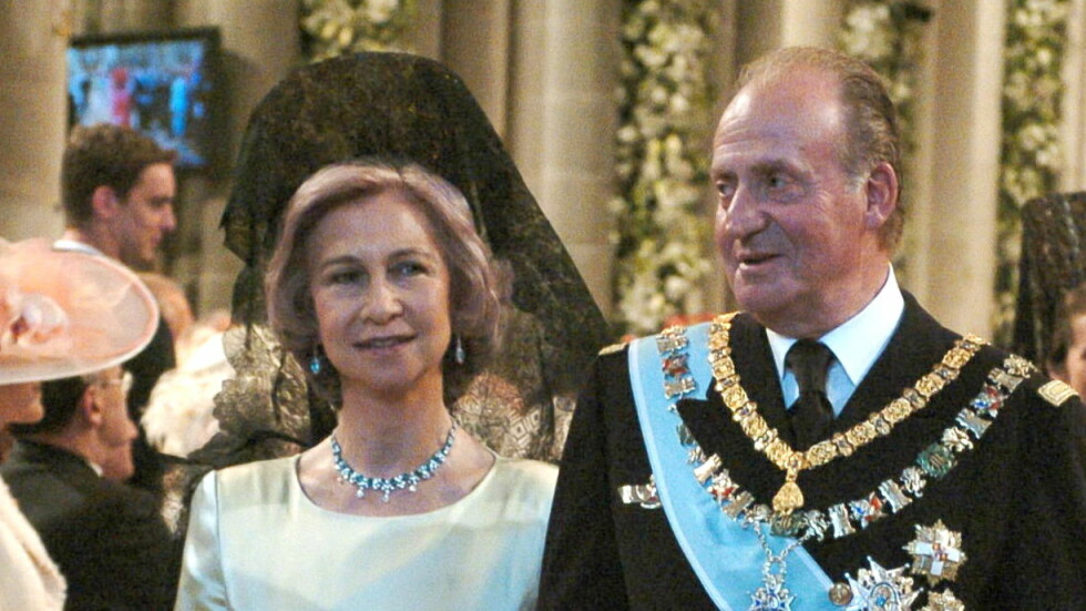 SKAL SKILLES: Både spanske og italienske medier melder om at det tidligere kongeparet i Spania, Juan Carlos og Sofia, snart skal skille seg. Foto: All Over Press
