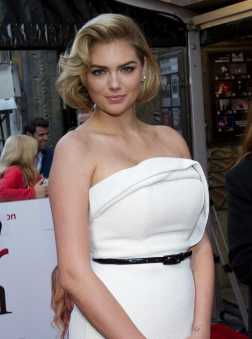 OFFER: Modell og skuespiller Kate Upton er også blitt rammet av nakenhackingen. Foto: Stella Pictures