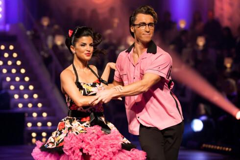INNBITT: I 2010 kom Aylar Lie til finalen i «Skal vi danse» sammen med Egor Filipenko, selv om hun slet med både lungebetennelse og hjernerystelse. Foto: Stella Pictures
