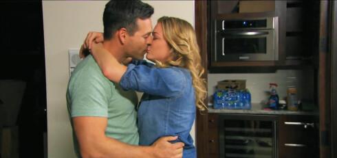 TV-AKTUELLE: Stjerneparet i en scene fra sin nye reality-serie, «LeAnn & Eddie».  Foto: Stella Pictures