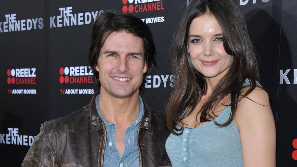 OVERRASKENDE BRUDD: Katie Holmes overrasket både ektemannen Tom Cruise og millioner av fans, da hun for to år siden brått flyttet ut med datteren Suri. I dag er det hun som har hovedansvaret for åtte-åringen. Foto: Stella Pictures