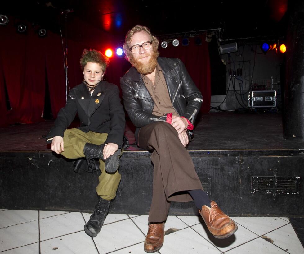 "2010: Sven Nordin som faren Magnus i filmen ""Teori og praksis."" Her med Åsmund Høeg som spilte Nikolaj.  Foto: NTB scanpix"