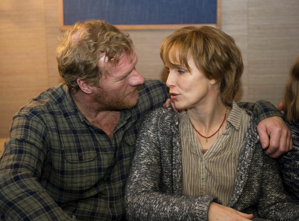 """2011: Sven Nordin og tyske Juliane Köhler som hovedroller i filmen """"To liv"""".  Foto: NTB scanpix"""