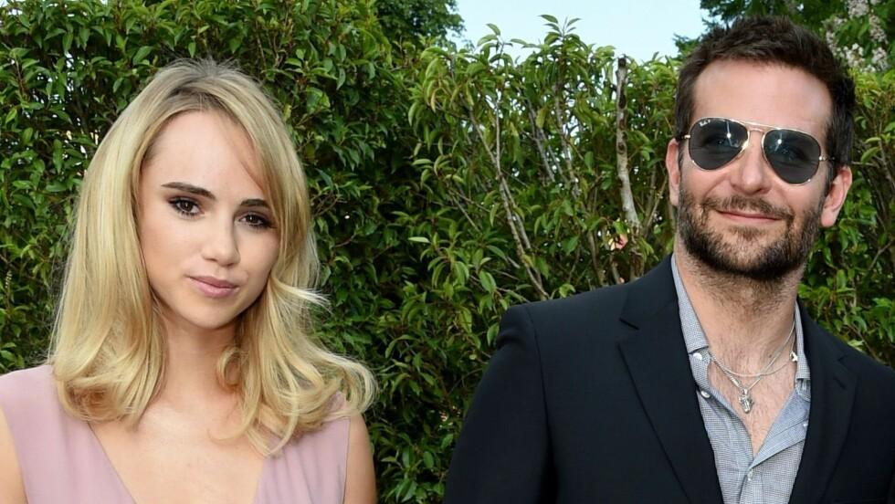 FLYTTER SAMMEN: Suki Waterhouse flytter inn hos Bradley Cooper i Los Angeles. Der bor Cooper sammen med moren sin. Foto: REX/Richard Young/All Over Press