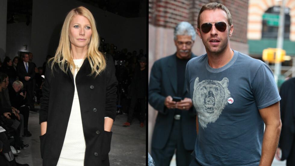 FLYTTET FRA HVERANDRE: Nyheten om at Gwyneth Paltrow og Chris Martin hadde brutt med hverandre kom i mars. Men det er ikke lenge siden det tidligere stjerneparet flyttet fra hverandre. Foto: All Over Press